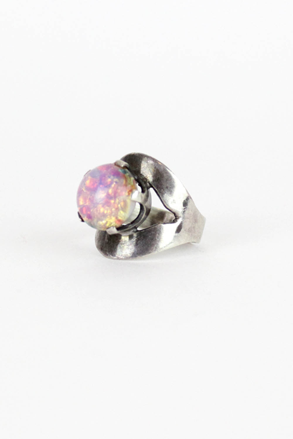 Raised Opal Ring