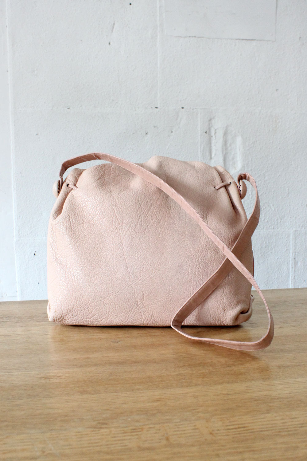 Blush Carlos Falchi Buffalo Bag