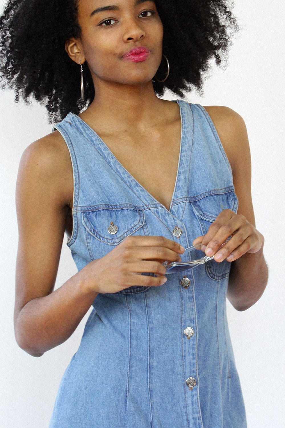 Sunshine Denim Jumper M