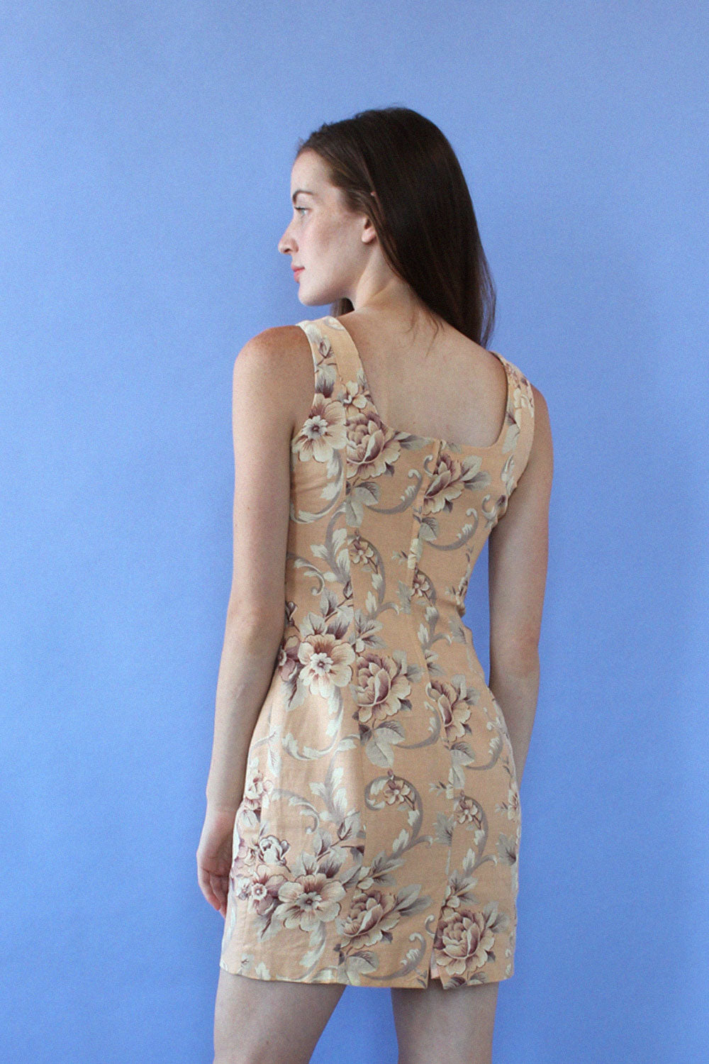 Antiqued Floral Sheath S/M