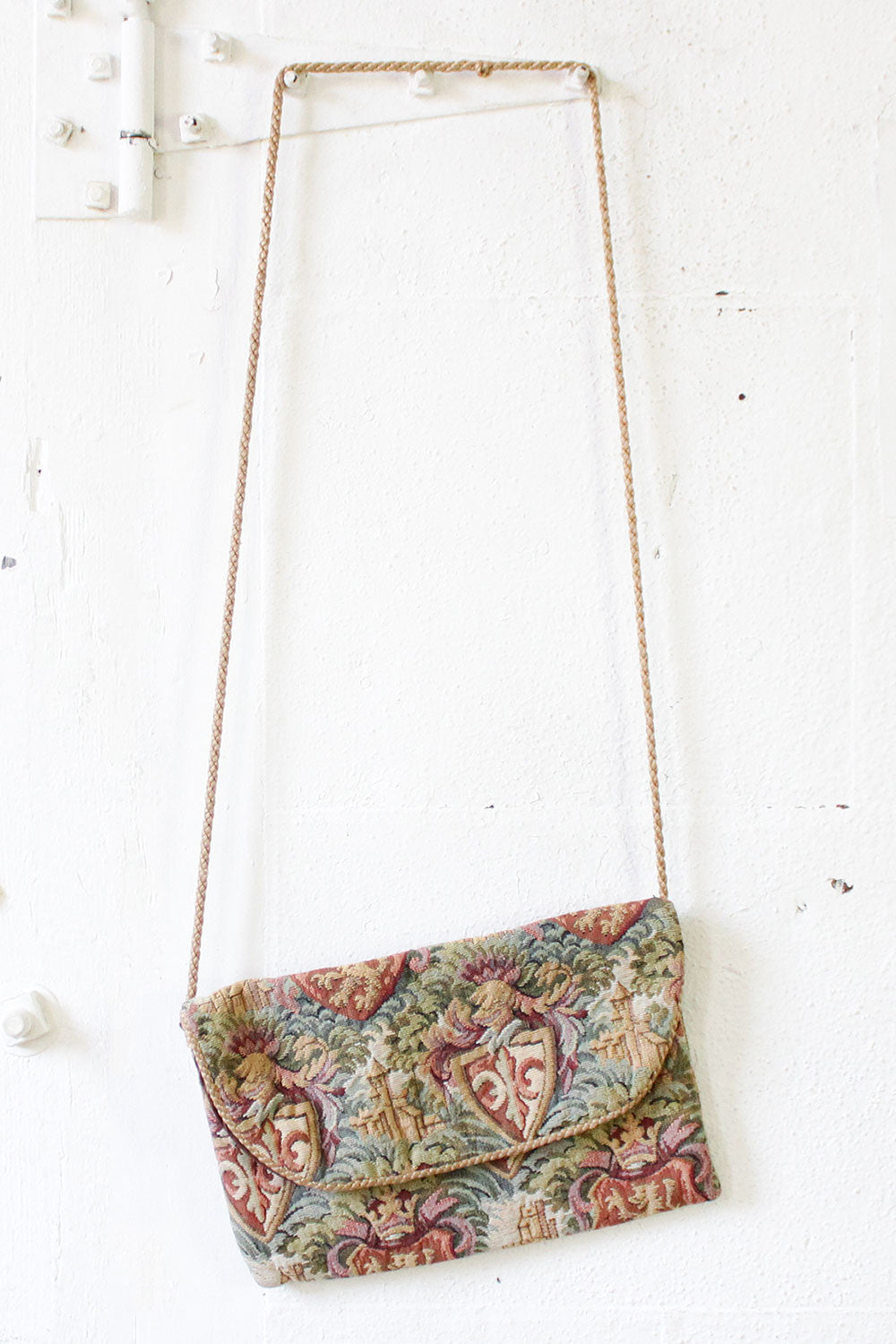 Castle Tapestry Satchel