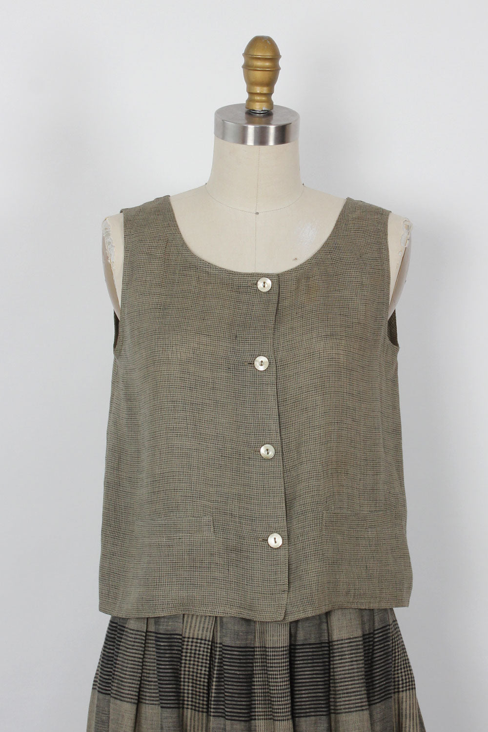 Max Mara Linen 3pc Ensemble XS/S