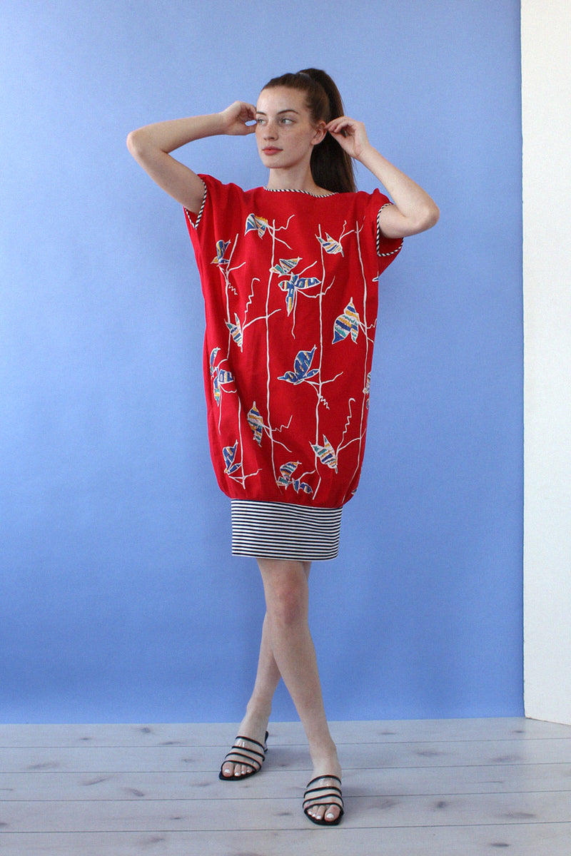 Butterfly Cocoon Dress S-L