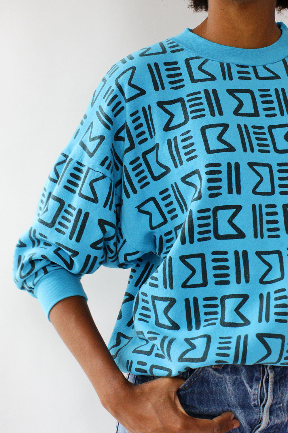 Pacwoman Graphic Thin Sweatshirt