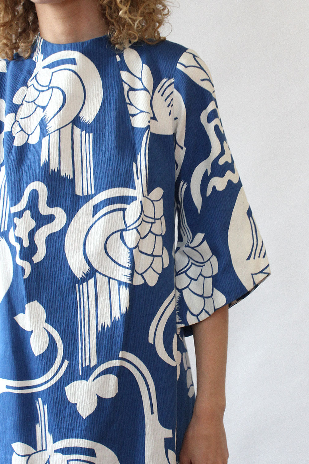 Graphic Floral Hawaii Dress XS-M