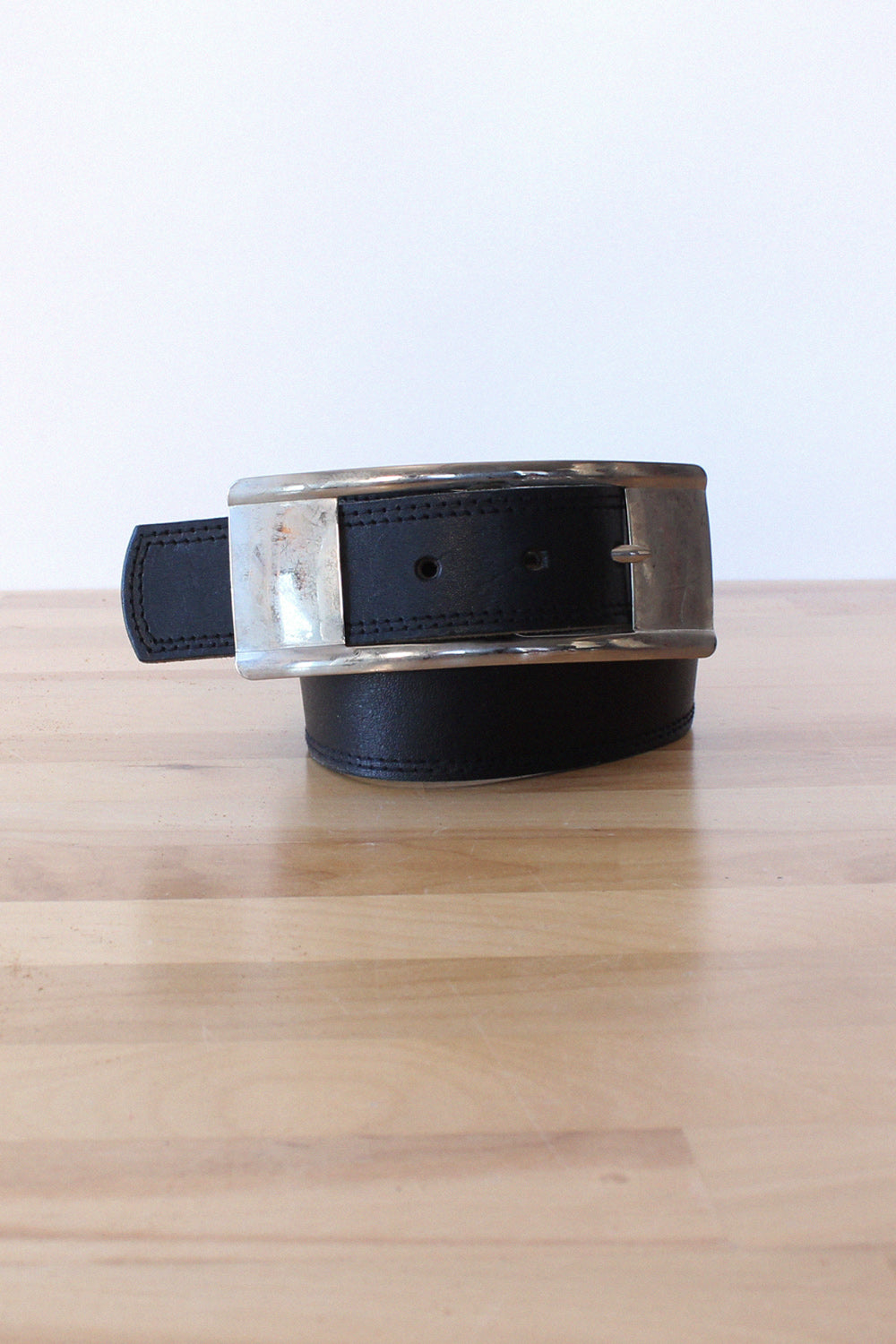 Exaggerated Buckle Belt