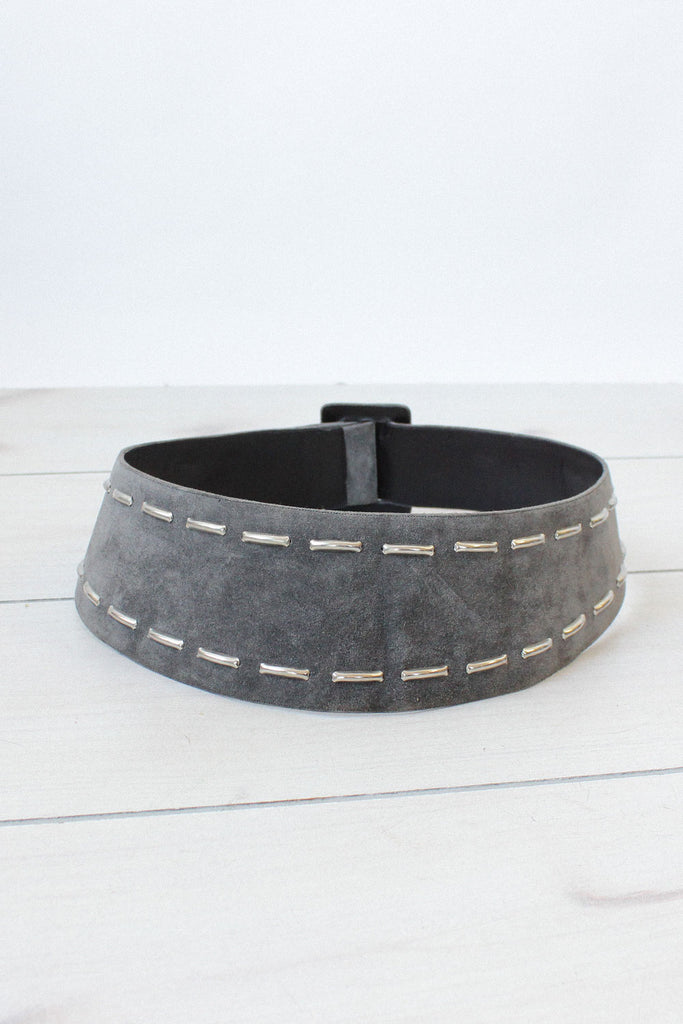 Ungaro Studded Yoke Belt