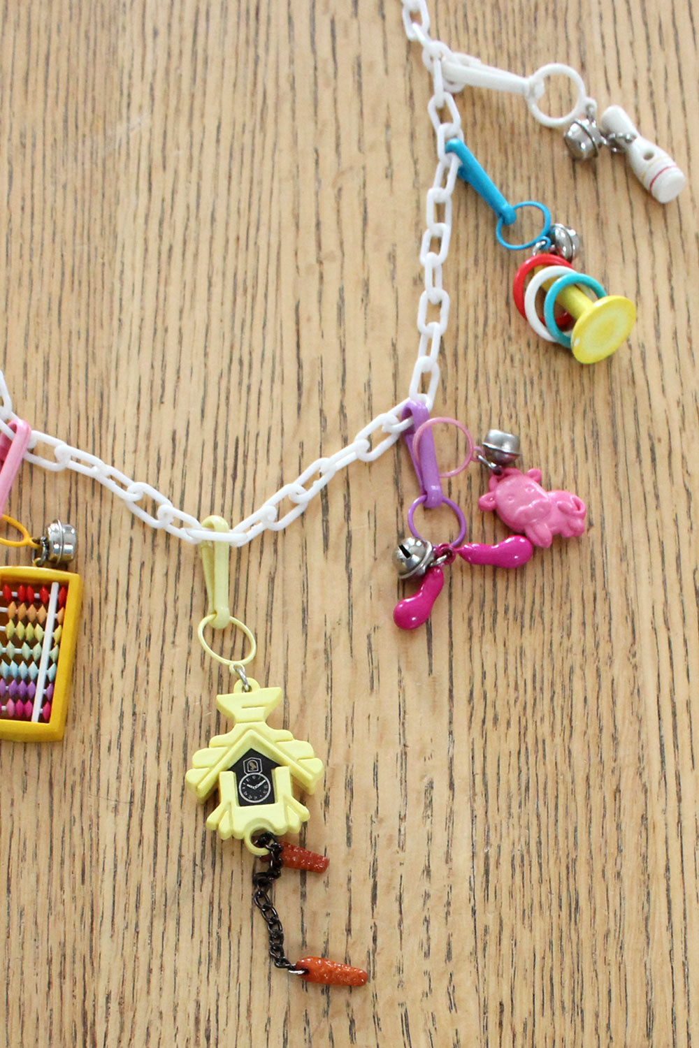 Cuckoo Clock Charm Necklace