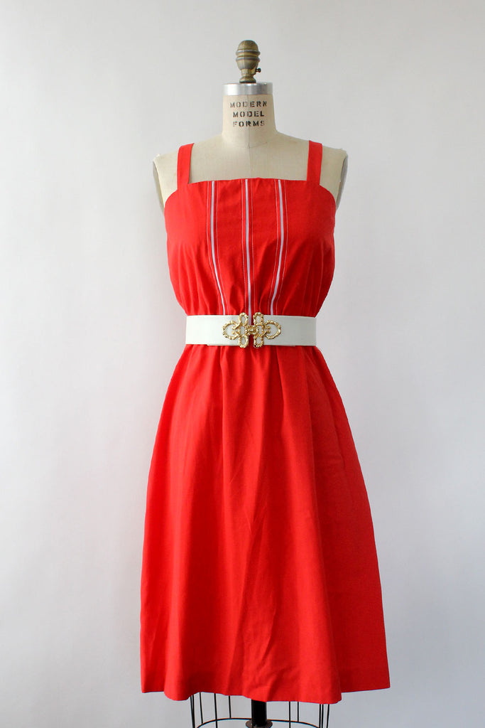 Texas Red Sundress M/L