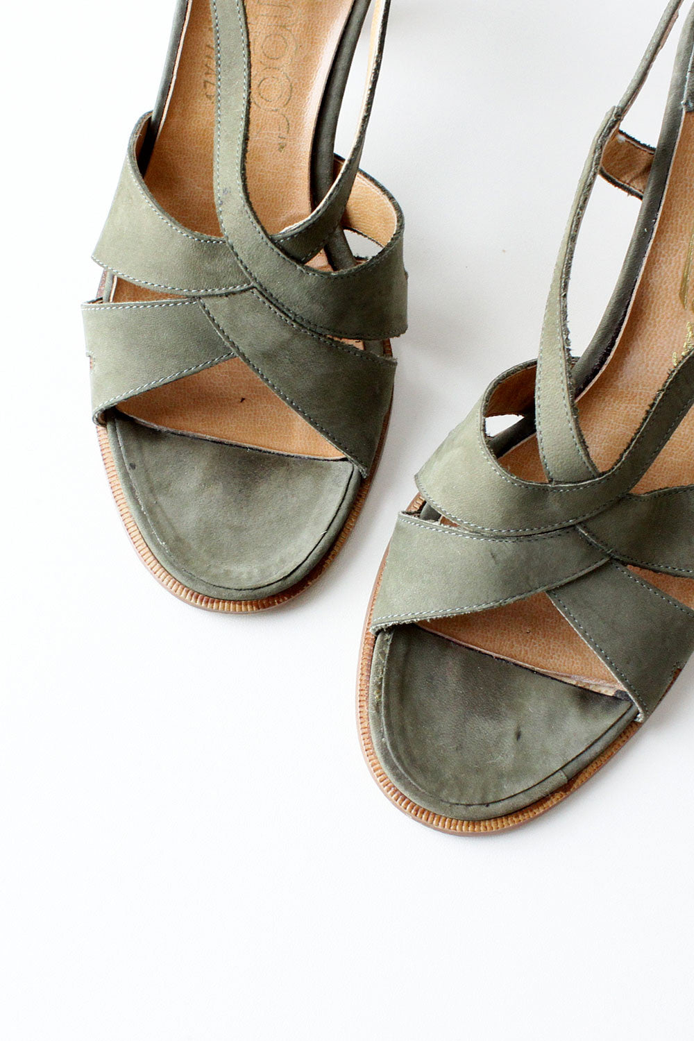 Moss Strappy Sandals 7