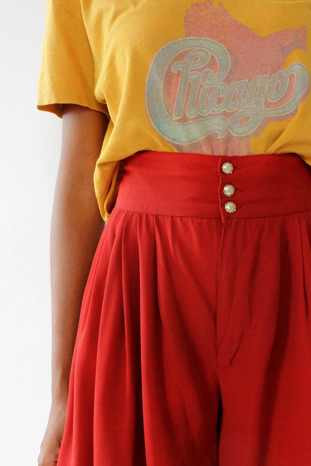 Cranberry Flowy Shorts XS/S
