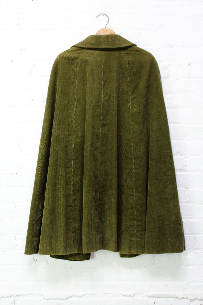 Forest Corduroy Cape