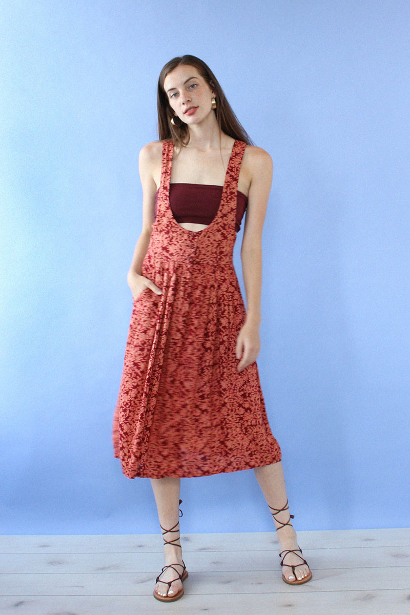 Milanzo Cherry Jumper Dress M