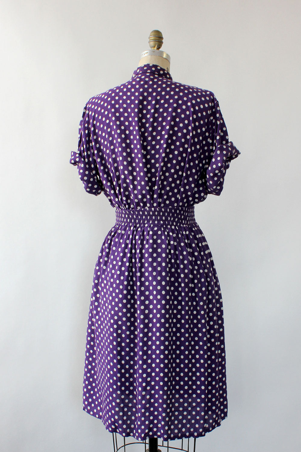 Purple Polka Dot 2pc Set S/M