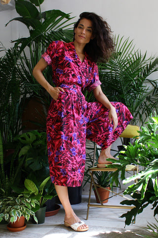 Tropical Tuesday Gaucho Jumpsuit