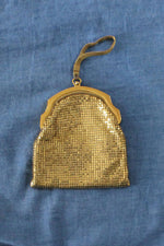 Whiting & Davis Chainmail Pouch Purse