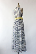 Marcia Polka Dot Maxi Dress S