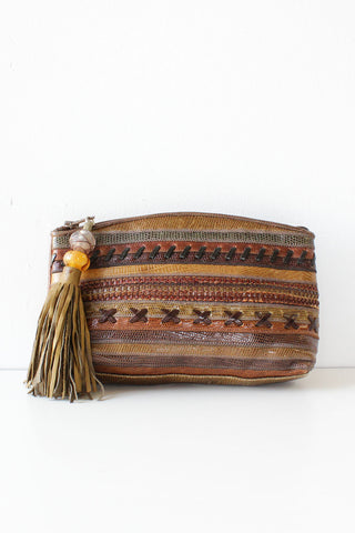 Sharif Tassel Clutch