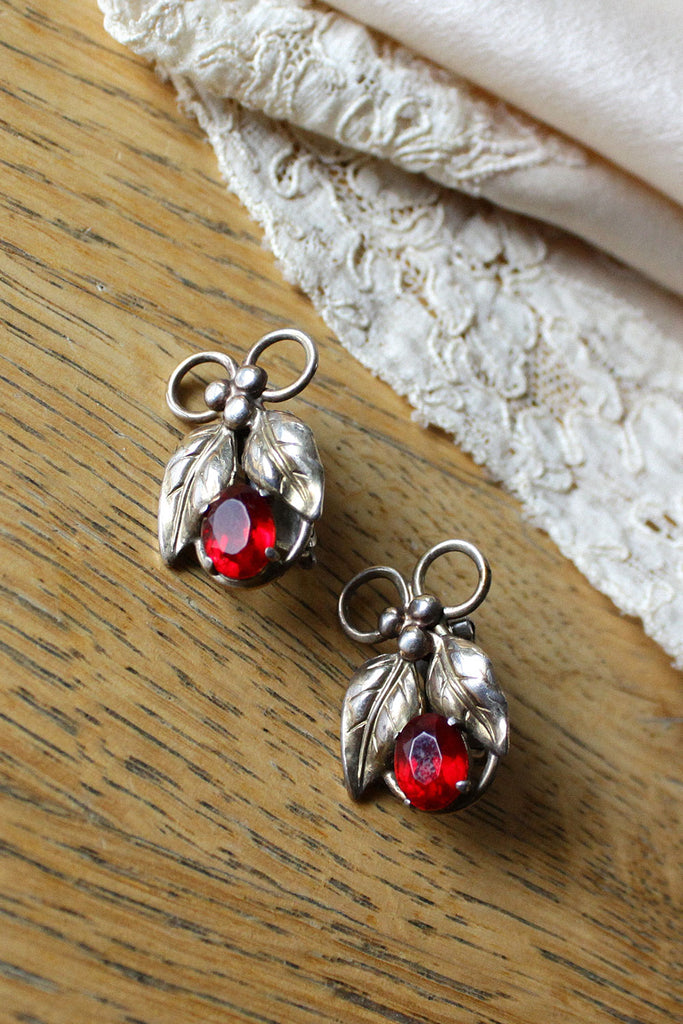 Raleigh Mistletoe Earrings