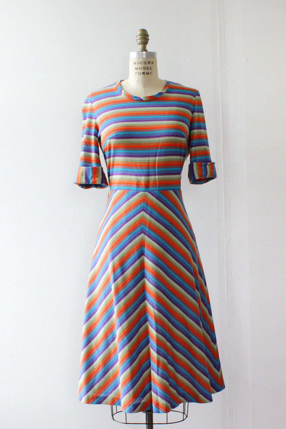 Cindy Stripe Dress M