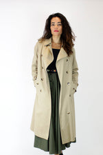 Saks Trench Coat M