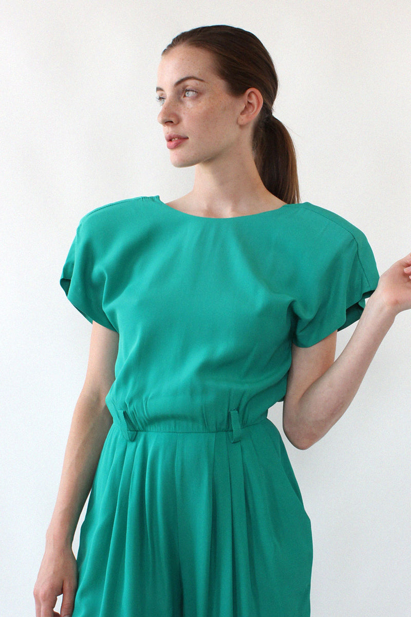 Emerald Hearts Jumpsuit S/M