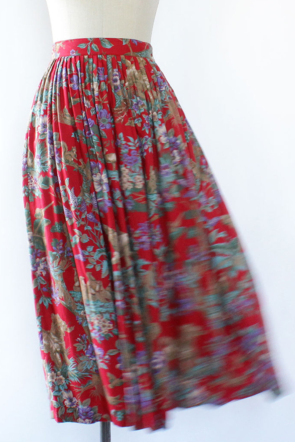 Woodsy Hunting Print Skirt S