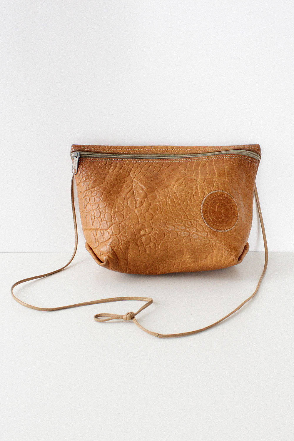 Tan Falchi Crossbody
