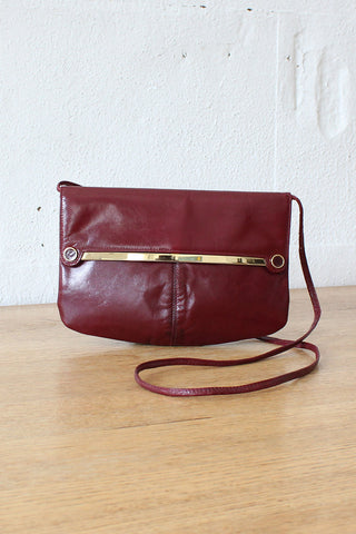 Jeffrey Geometric Leather Bag