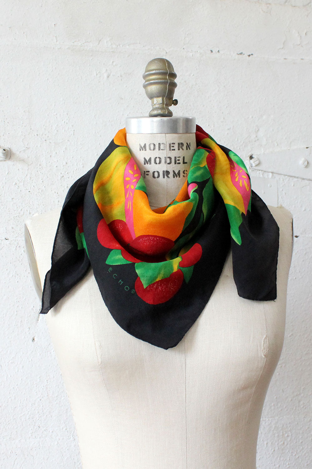 Juicy Fruit Silk Scarf