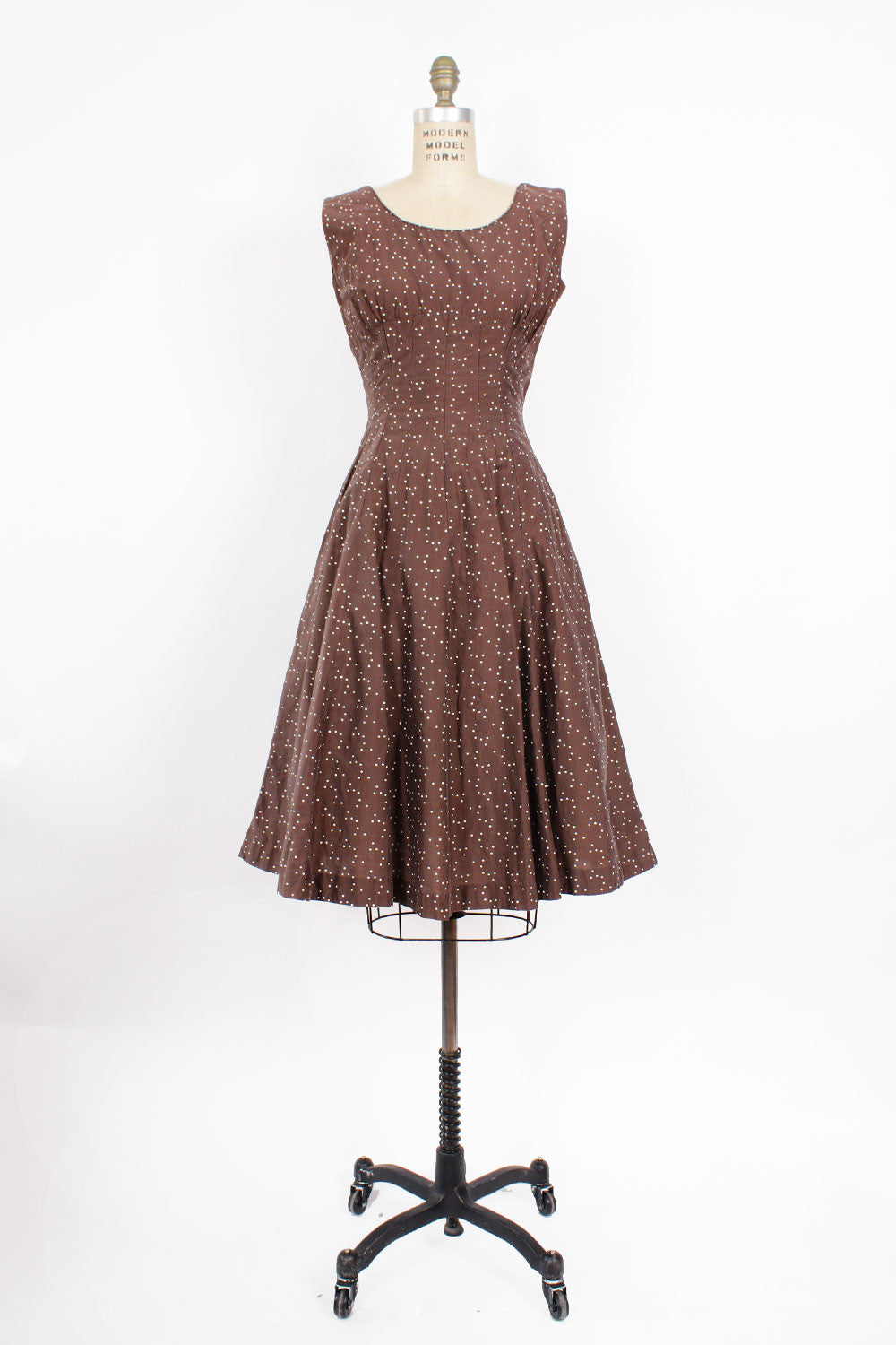 50s Constellation Dress M