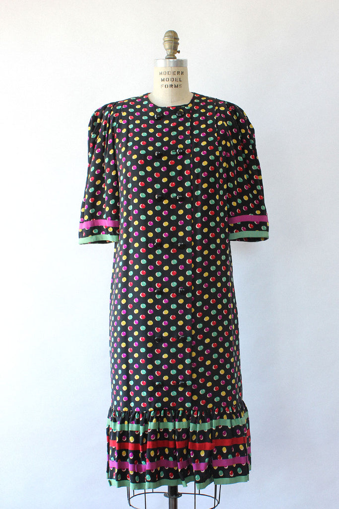 Nipon Candy Dot Dress M