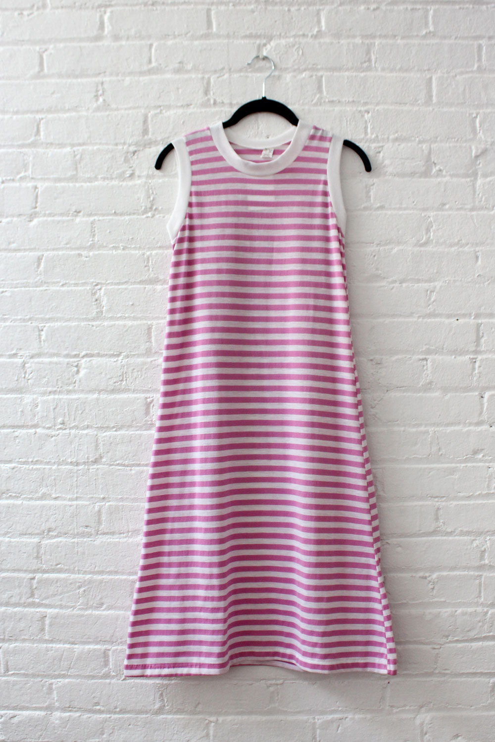 Sporty Stripe Knit Dress S