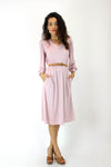 Pierre Cardin Blush Pink Dress S