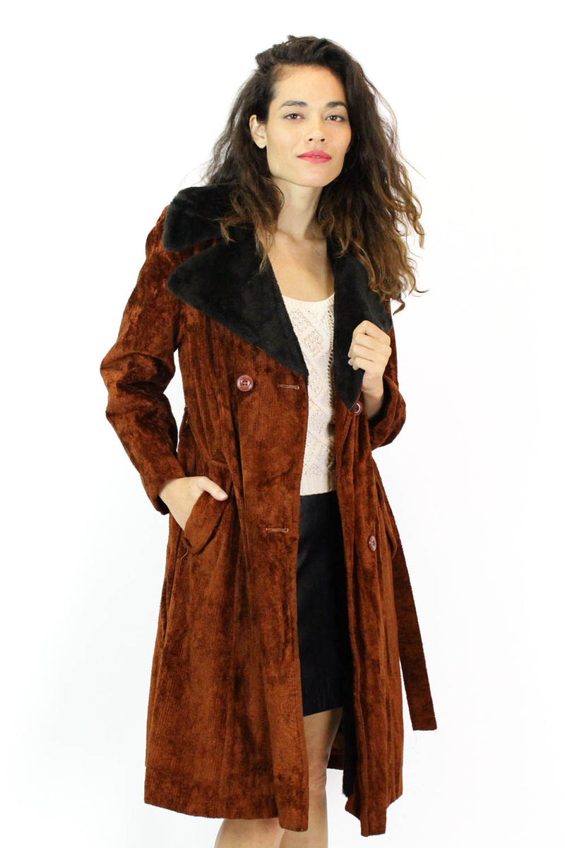 vintage carpet coat