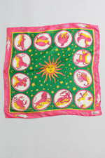 70s Astrological Silk Scarf