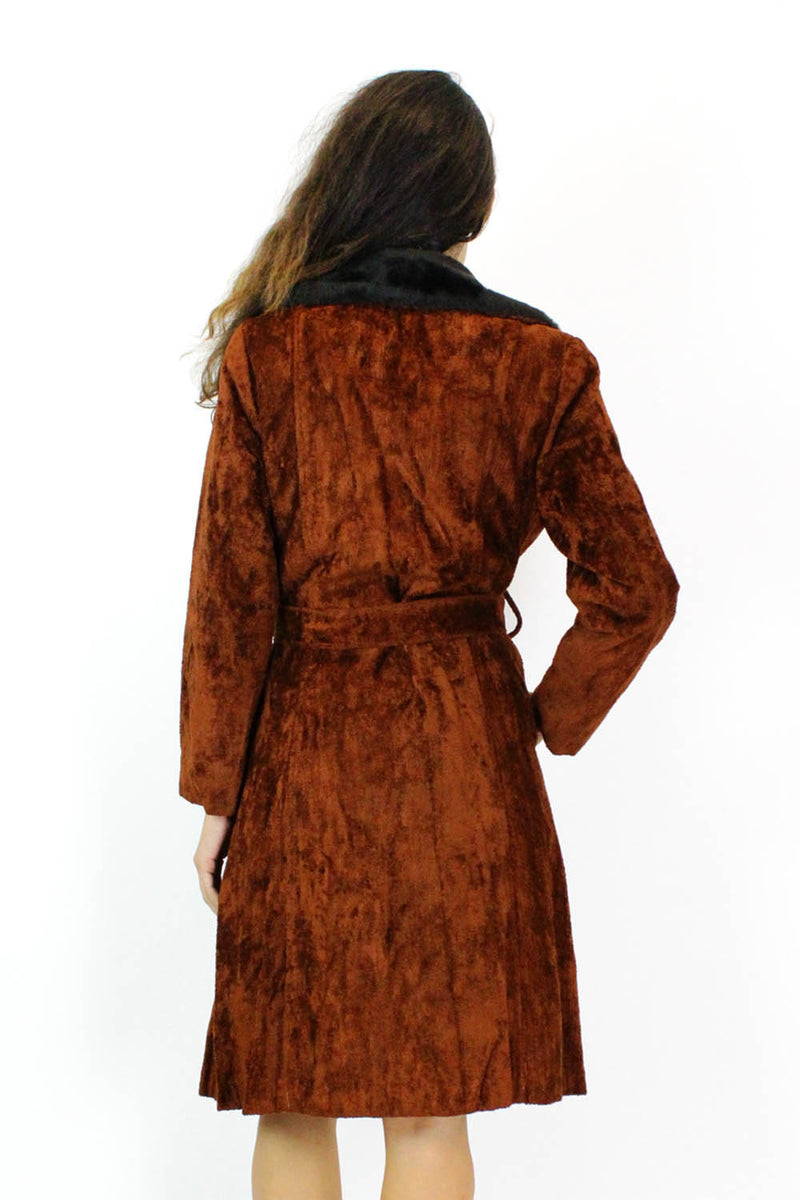vintage faux fur coats for sale