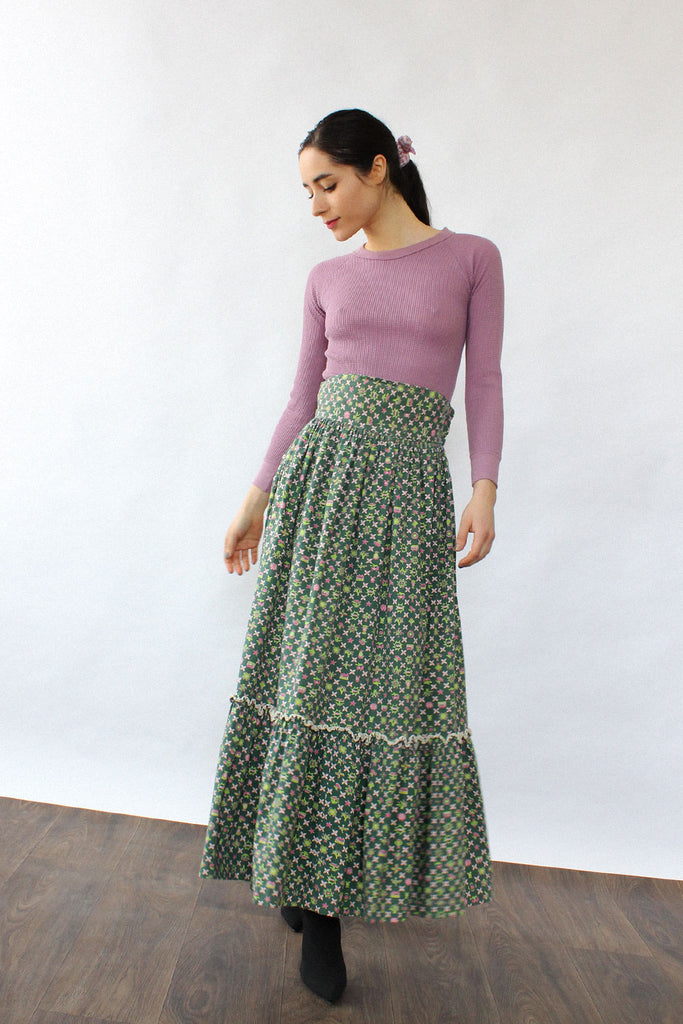 Little House On The Prairie Skirt XS
