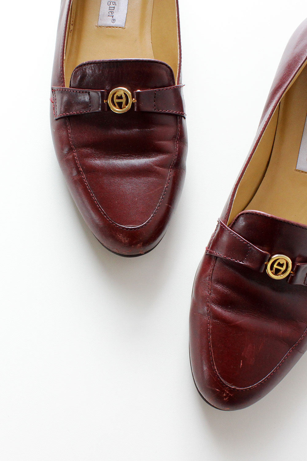 Aigner Medallion Loafers 9