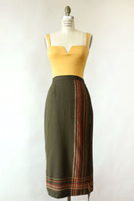 Forest Blanket Skirt S/M