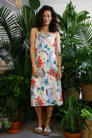 Hawaii Bound Strapless Dress S/M