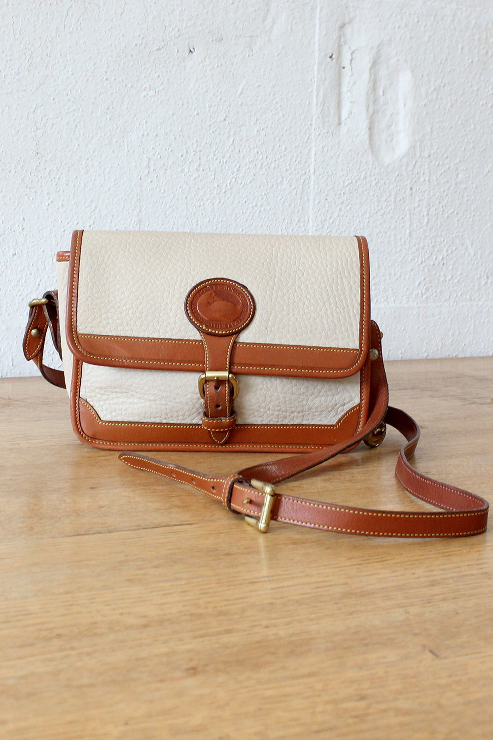 Dooney Two Tone Crossbody Bag