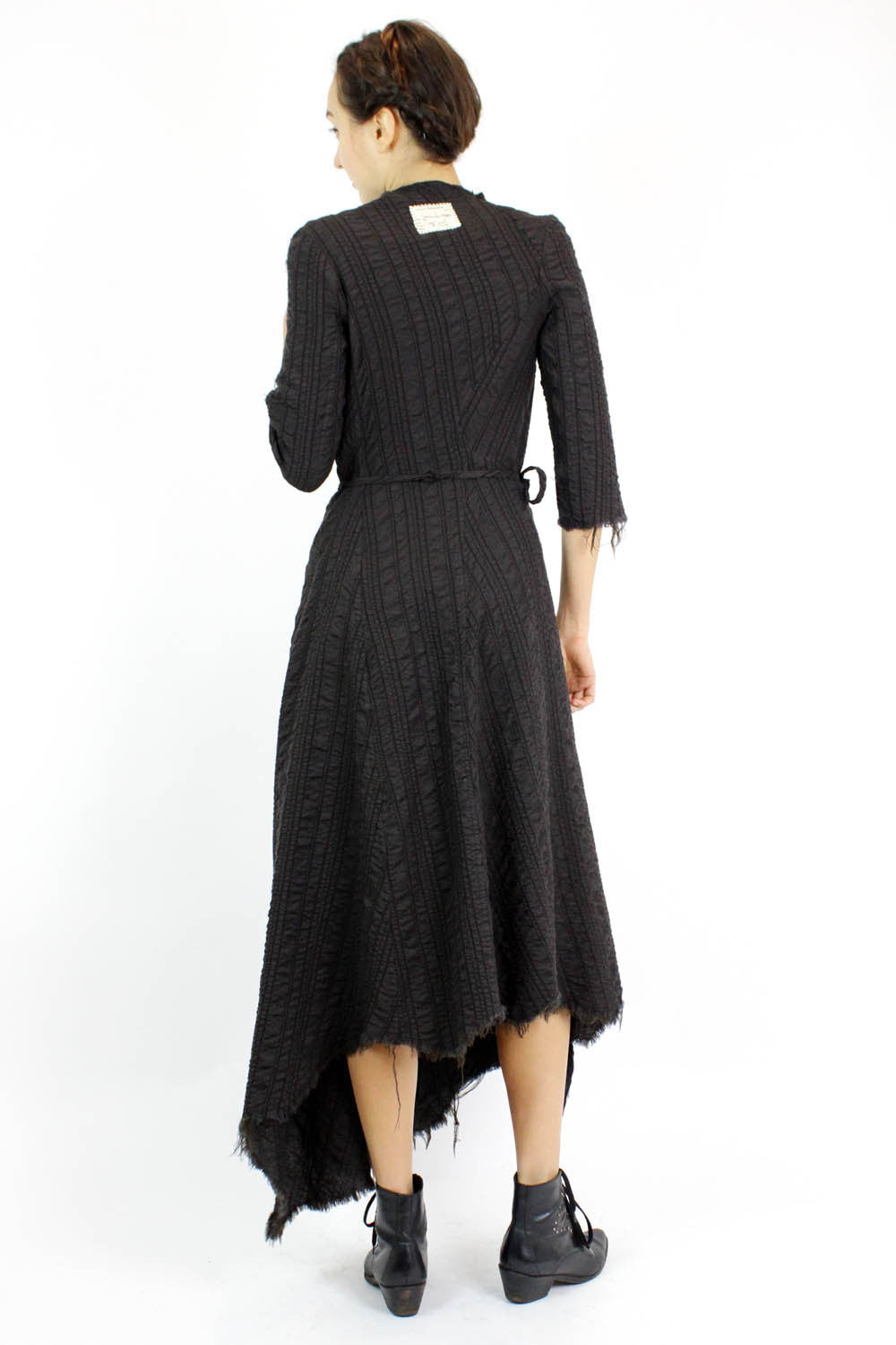 gary graham wool dress