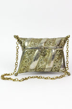 Hooked Metal Pillow Purse