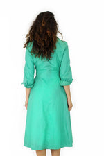 Green Trench Coat S