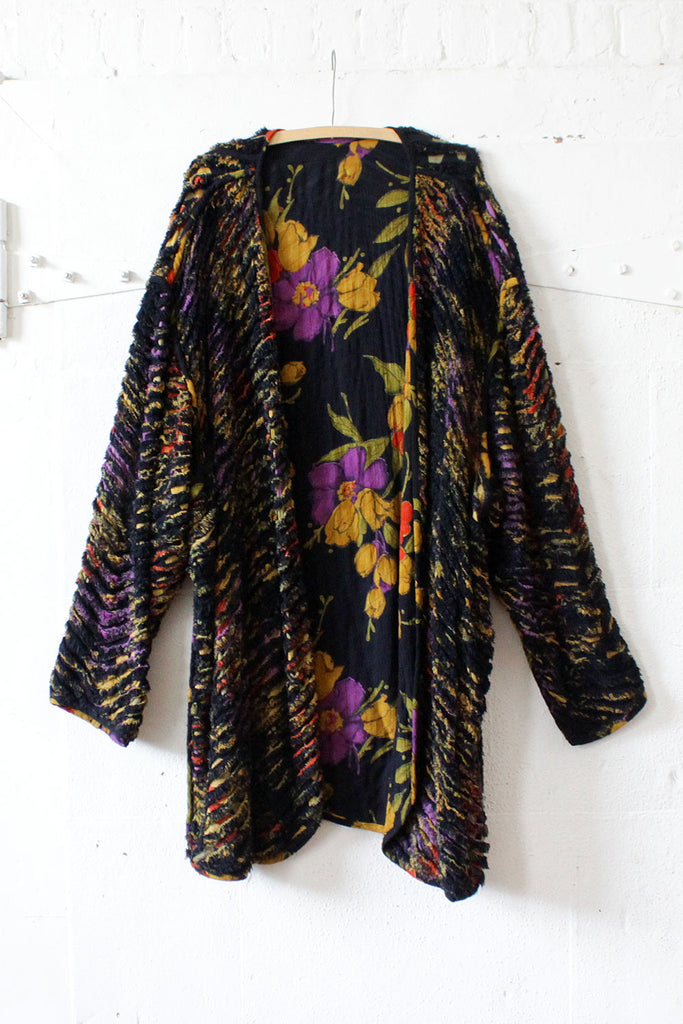 Chenille Reversible Drapey Duster