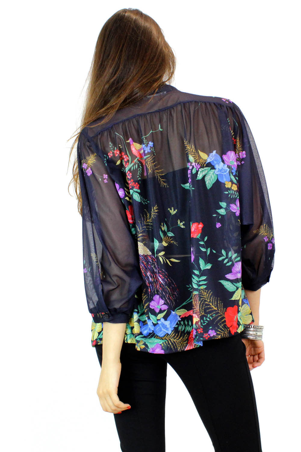 Bird of Paradise blouse M/L