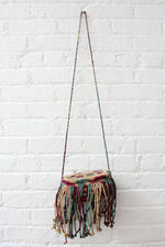 Fringe Barrel Purse