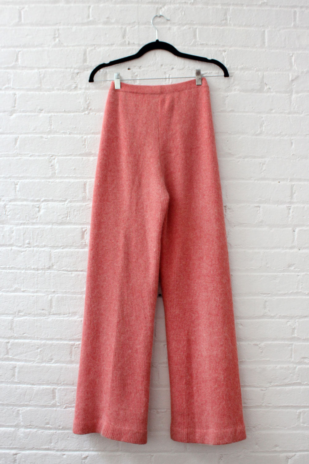 Salmon Knit 2pc Pant Ensemble S/M