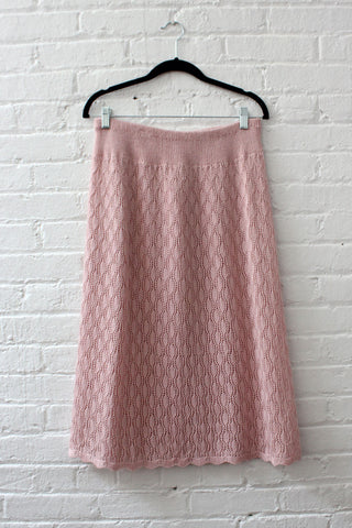 Lemon Pleated Skirt XS
